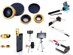 Kansang Kansang Cell Phone Lens Kit Universally Compatible with Apple iPhone 6/6 Plus/5/5S/5C/4/4S, iPad Air/iPad 234/iPad Mini, Tablet PC, Laptops, Samsung Galaxy S5/S4/S3/S2/ Note3/Note2, HTC ONE M8, Blackberry Bold Touch, Sony Xperia, Motorola Droid and Other Smart Phones - FREE Bonus Tripod,Extendable Handheld Monopod Selfie Stick, Cell Phone Mobile Tripod Mount Adapter,Extra Clip, and Photo Tips - Works with iPhone, iPad, iPod, Samsung, And Other Similar Devices. Kit Contains 3...