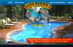 Let SuperDad Save You From Bad Pool Service! Sign Up For Pool Service And Get Your First Month Free! 561-420-1112 No Contracts or Hidden fees