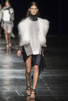 #PrabalGurung  #FW/2014-15 #Catwalk #trends #sweater #furry #MBFWNY #NewYork #in