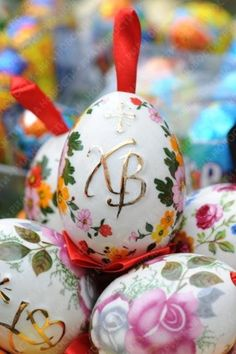 Easter ideas vary in different countries, but evoke wonderful feelings in spring, and uniting believers and atheists. Fun Easter ideas, delicious food and colorful Easter eggs decoration create joy and make all people smile, welcoming the beautiful spring season.    Orthodox Easter eggs decoration i
