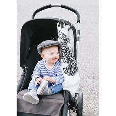 Protection pour poussette Baby Peace coton bio Léopard