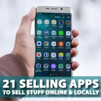 Looking to sell your old stuff? Want to earn some extra cash to improve your bottom line? Here are 21 selling apps to help you sell your stuff online! Selling Apps, Selling Online, Extra Cash, Extra Money, Sell Your Stuff, Things To Sell, Local Police, Selling Furniture