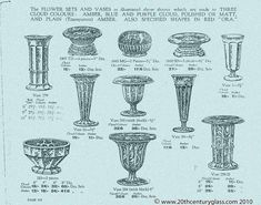 Davidson 1931 Catalogue 06 | Antique & Collectable Glass Encyclopedia