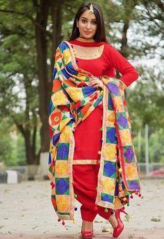 Designer Punjabi Suits, Indian Designer Outfits, Indian Suits, Indian Wear, Indian Style, Indian Dresses, Punjabi Fashion, Indian Fashion, Women's Fashion