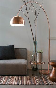 wohnzimmerlampen günstig design kupfer