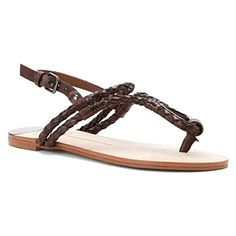 New Dolce Vita Dixin Brown Leather 6 Womens Sandals * Check out the image by visiting the link.