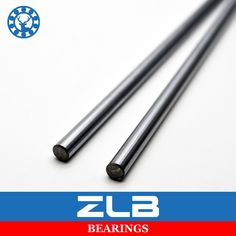 22.50$  Buy now - http://aliffp.shopchina.info/go.php?t=32736359142 - 2Pcs Kossel Linear Shaft 8mm Length 600mm Chome Plated Harden Steel Rod Linear Rail Printer 3D  #buymethat
