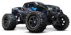 Starting from a clean sheet, the X-MAXX is an all new truck from the ground up! Designed from the start with extreme size and strength puts a whole new meaning on TRAXXAS TOUGH! With its enormous size