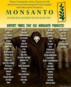 Monsanto is poisoning your food.