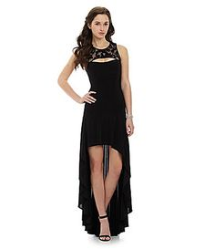 78a44be12c Blondie Nites HiLow Dress  Dillards Black High Low Dress