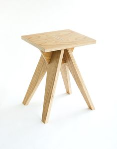 HEDGEHOG dismountable plywood stool от Stooland на Etsy