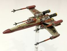 T-65 X-Wing Silly Games, X Wing Miniatures, Star Wars Vehicles, Star Wars Models, Star Wars Collection, Custom Paint, Starwars, Minis, Painting