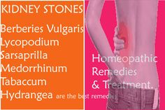 Kidney stone Homeopathic remedies