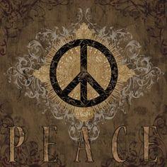 art print title Peace, artist Brandon Glover, art prints, canvas transfer art, plaque decor, famous artists prints, flush mount artwork, float mount