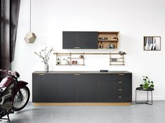 All production takes place at the workshop 'Fabrikken' in Copenhagen where our studio, showroom and shop are all located under one roof. #kitchen #nicolajbo #interior scandinavian #oakwood #design #nimbus