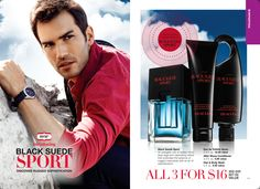 My AVON Man: Black Suede Sport a clean sexy fragrance for that MAN in your life! https://www.avon.com/brochure/?s=ShopBroch&c=repPWP&repid=18742786&tntexp=pwp-b&mboxSession=1454859313299-176105