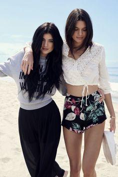 Ya puedes ver algunas de las prendas de la colección de Kylie y Kendall Jenner
