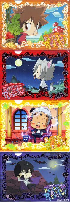 Reborn Katekyo Hitman, Hitman Reborn, All Anime, Anime Guys, Mafia, An No Exorcist, Gekkan Shoujo, Kagerou Project, Cute Chibi