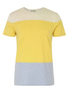 Coggles Oliver Spencer Tri Panel Oatmeal, Gold, Ice Tee