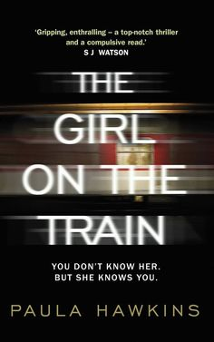 """The Girl on the Train is a suspense/thriller novel by Paula Hawkins, published at the beginning of I'm here to give it my glowing endorsement. It's definitely a """"slow-building suspense"""". Paula Hawkins, Reading Lists, Book Lists, Reading Room, Good Books, Books To Read, Dark Romance, Milan Kundera, Girl Train"""