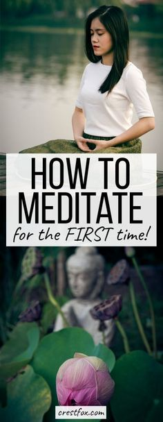 How to Meditate for the First Time Pin Image