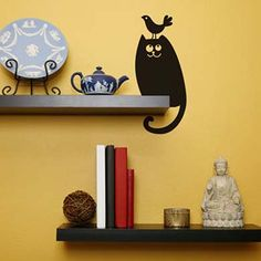 Funny wall decal