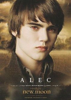 Twilight saga New Moon trading card Alec,21