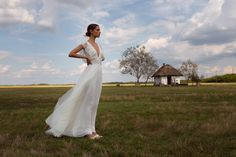 Tradition meets modernity in the FOLK bridal collection which merges traditional Hungarian folk-art shapes & design elements with Daalarna's feminine style. Bridal Dresses, Wedding Gowns, Bridal Fabric, Shape Design, Cotton Lace, Signature Style, Feminine Style, Bridal Collection, Nice Dresses