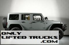 2013 Jeep Wrangler Unlimited Custom Leather Lifted Jeep