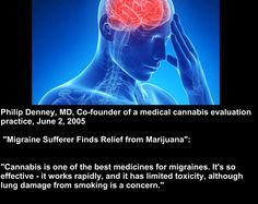Cannabis and Migraines  #medicalmarijuana #cannabis #thc #cbd #marijuana #migraines #pain