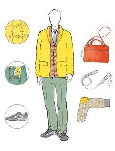 GQ Style illustration on Behance