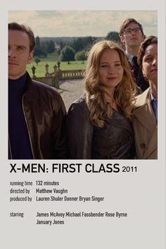 Marvel Art, Marvel Avengers, James Mcavoy Michael Fassbender, Matthew Vaughn, Bryan Singer, First Class, Minimalist Poster, Poster Making, Jennifer Lawrence