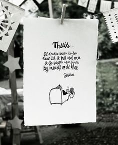Poem Thuis | Atelier Sukha https://www.atelier-sukha.nl/product-category/paperwork/