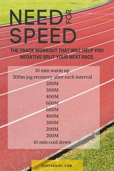 Running Discover 6 Speed Workouts for Runners Hone your pacing skills and finish strong with this speed workout from RunFarGirl Soccer Workouts, Treadmill Workouts, Running On Treadmill, Running Tips, Sprinting Workouts, Track Workouts For Sprinters, Running Humor, Running Drills, Treadmills