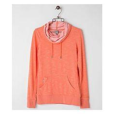 Bench Tri Fun Sweatshirt ($51) ❤ liked on Polyvore featuring tops, hoodies, sweatshirts, jackets, orange, orange top, red sweat shirt, bench top, bench sweatshirts and sweat tops