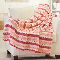 Herrschners® Tropical Punch Crochet Afghan Kit