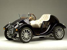 Tesla's horseless carriage (electric)