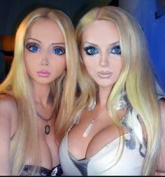 Barbie Humaine Et Ken 10 best real live living dolls ❤ doll university - images | living