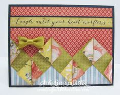 Cards created with our Ariana product line and new embossing folders!