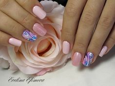 Air nails, Date nails, Dating nails, Excellent nails, Festive nails, Glitter nails, Nails with sparkles, Pattern nails