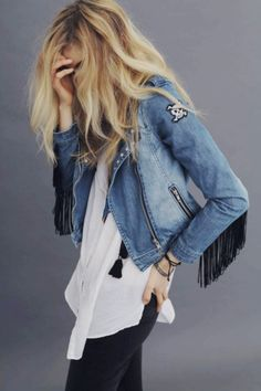 Hey ummmm.... I love this jacket. Its really pretty I would wear it like everyday if I had it and if my mom would let me!