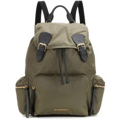 Burberry Backpack Polyvore