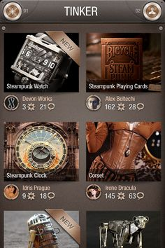 I've always been a fan of Steampunk and this project really inspired to create an entire mobile app based on that theme. Steampunk Clock, Steampunk Watch, Steampunk Corset, Web Patterns, All That Matters, Steam Punk, Innovation Design, Mars, Mobile App