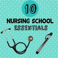 Congratulations! You've been accepted into nursing school! Now what? Let's start with the essentials.