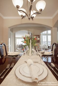 Formal Dining Room http://www.kurtjohnsonphotography.com/