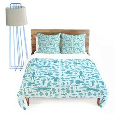 Sea Creatures Duvet Cover King, $160, now featured on Fab.
