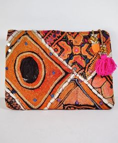 Cleobella Vintage India Clutch