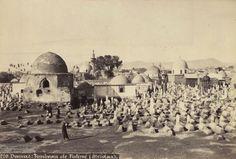 دمشق.. الشاغور..مقبرة باب الصغير.. 1869 بعدسة جان باتيست شالير