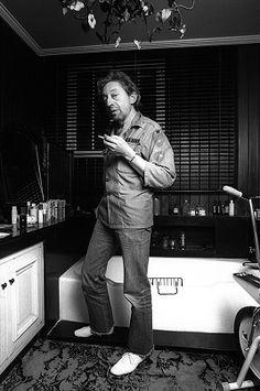 Le fumeur de gitanes. Serge Gainsbourg