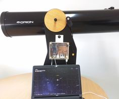 """I am fascinated by astronomy since the first time I looked to the night sky. Recently, I bought a 8"""" Newtonian telescope that came with a Dobsonian mount. It's..."""